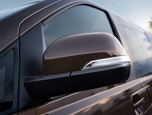 Außenspiegel mit integriertem Blinker