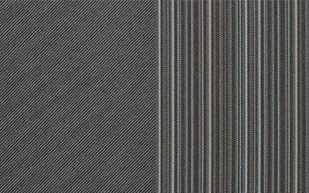 Sitzpolsterung in Stoff (grau)