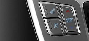 Belüfteter und beheizbarer Fahrersitz