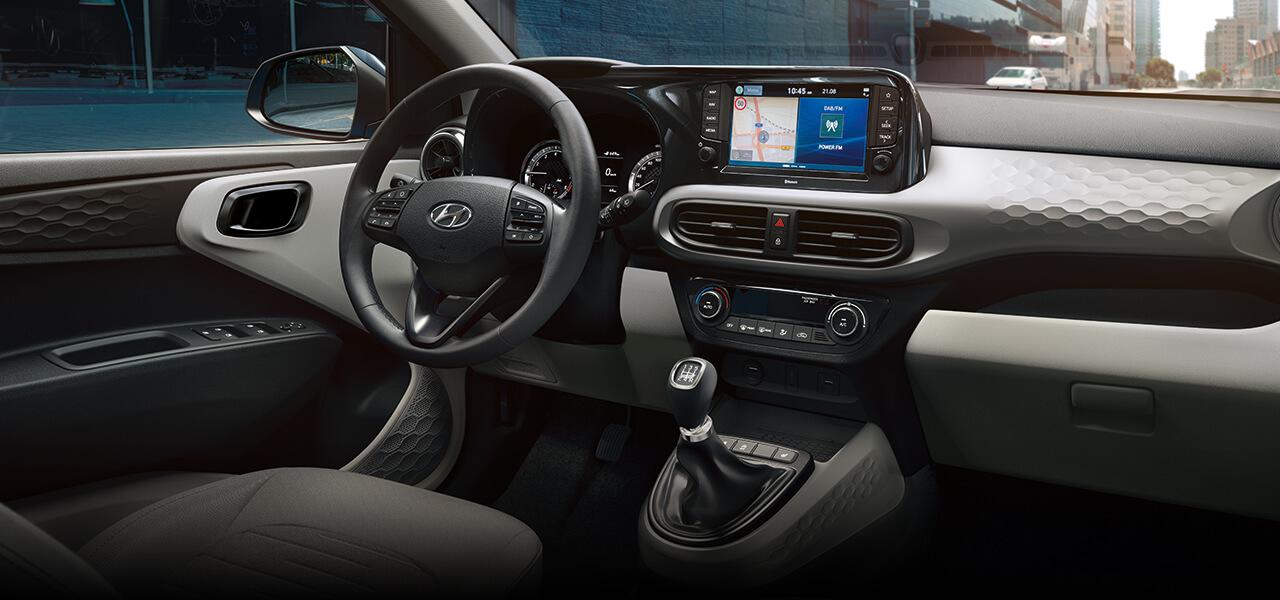 New Hyundai i10 dashboard