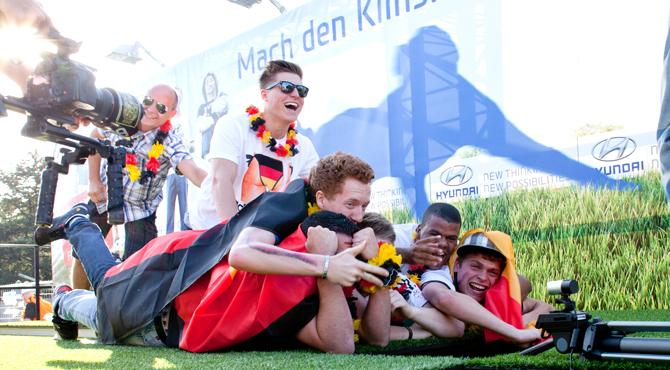 Hyundai Fan Park Berlin: Hyundai Klinsmann-Diver Program