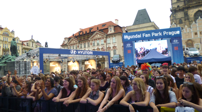 Hyundai Fan Park Prague