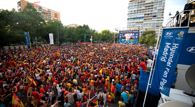 Hyundai Fan Park Madrid