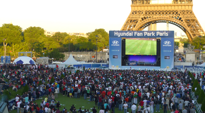 Hyundai Fan Park Paris