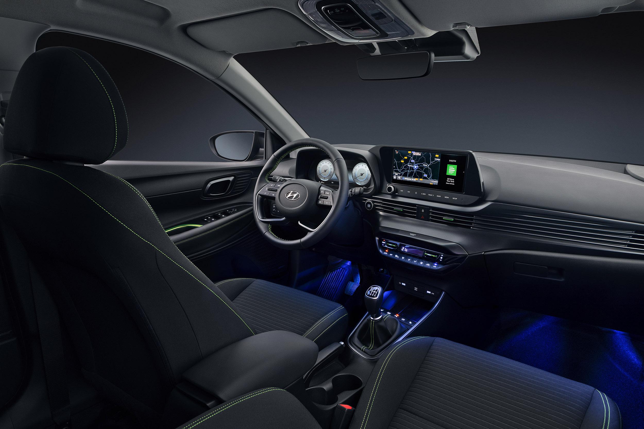 The all-new Hyundai i20 back seats