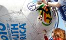Football Fans write messages on 'Hyundai Good Will Ball'