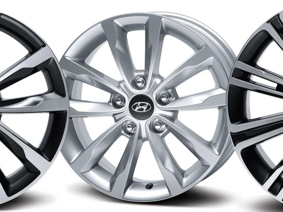 "2 i40 Sedan (2011)16"" алуминиева джанта, комплект"